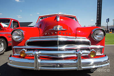 1950 Plymouth Automobile Art Print