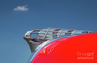 Photograph - 1950 Plymouth Hood Ornament by Kevin McCarthy