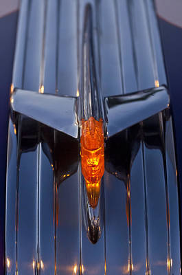1950 Pontiac Chief Hood Ornament 2 Art Print