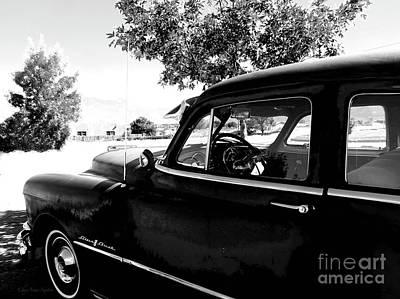Photograph - 1950 Pontiac Silver 8 Streak by CheyAnne Sexton