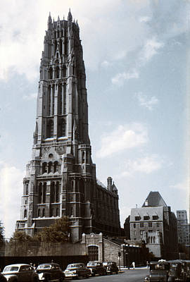 Photograph - 1950 Riverside Church Ny by Marilyn Hunt