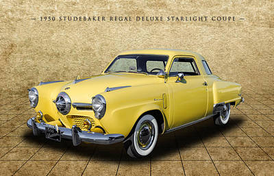 Photograph - 1950 Studebaker Champion Regal Deluxe Starlight Coupe - 1 by Frank J Benz