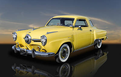 Photograph - 1950 Studebaker Champion Regal Deluxe Starlight Coupe - 2 by Frank J Benz