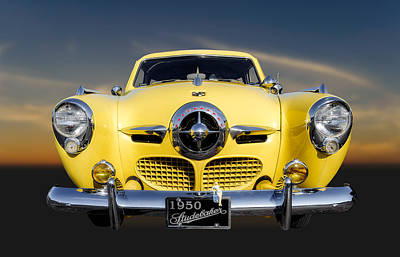 Photograph - 1950 Studebaker Champion Regal Deluxe Starlight Coupe - 4 by Frank J Benz