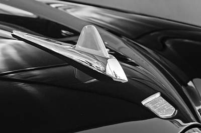 Photograph - 1950 Studebaker Custom Convertible Hood Ornament 2 by Jill Reger