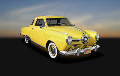 Photograph - 1950 Studebaker Deluxe Starlight Coupe  -  1950studebakerchampionstarlight142416 by Frank J Benz