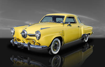 Photograph - 1950 Studebaker Regal Deluxe Starlight Coupe - 3 by Frank J Benz