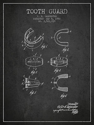 1950 Tooth Guard Patent Spbx16_cg Art Print