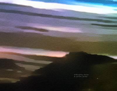 Digital Art - 1950's - Arizona Landscape by Lenore Senior and Willoughby Senior