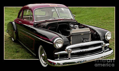 Photograph - 1950's Chevrolet by Deborah Klubertanz