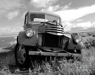 Photograph - 1950's Chevy Truck by Denise Bruchman