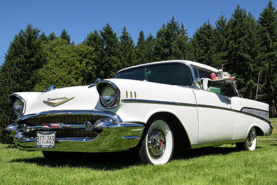 Photograph - 1958 Classic Chevrolet by Inge Riis McDonald