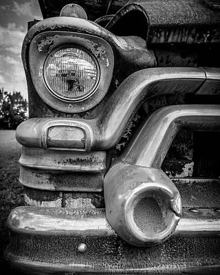 1950s Gmc 370 Truck Art Print