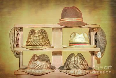 1950s Hats Art Print