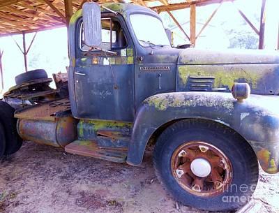 1950s International Truck Art Print