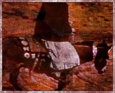 Digital Art - 1950's - The Burro Blanket by Lenore Senior and Willoughby Senior