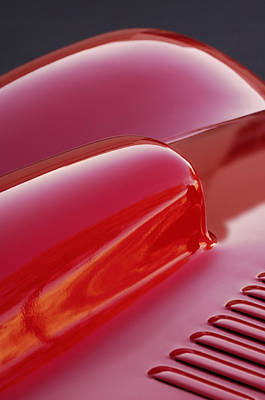 Photograph - 1951 Allard K2 Roadster Hood Scoop by Jill Reger