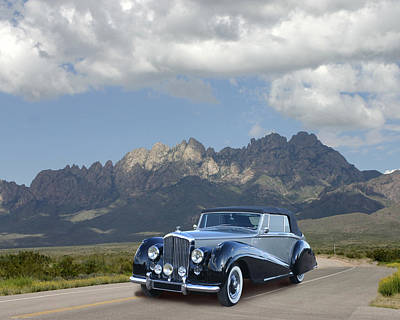 Photograph - 1951 Bentley D H C Organ Mountains by Jack Pumphrey