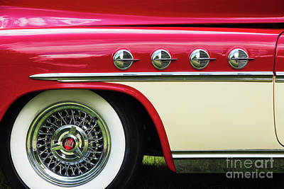 Photograph - 1951 Buick Roadmaster Fender by Tim Gainey