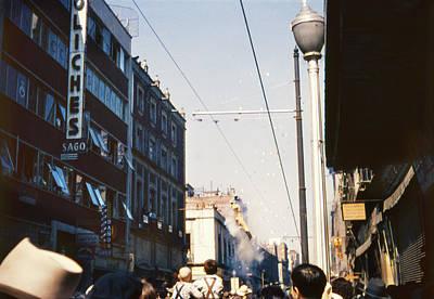 Photograph - 1951 Burning Judas Holy Week by Marilyn Hunt