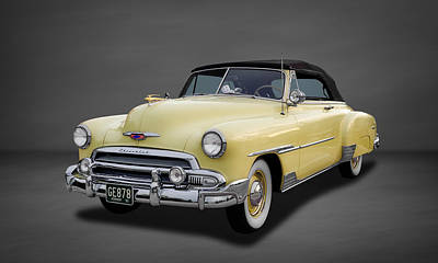 Custom Chevrolet Deluxe Photograph - 1951 Chevrolet Deluxe Convertible  -  3 by Frank J Benz