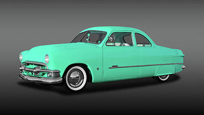 Photograph - 1951 Ford Custom Business Coupe  -  1951fdcpefa9846 by Frank J Benz