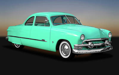 Photograph - 1951 Ford Custom Business Coupe   -   1951fordcustomshoebox170652 by Frank J Benz