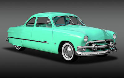 Photograph - 1951 Ford Custom Business Coupe   -   1951shoeboxfordcustomfa170652 by Frank J Benz