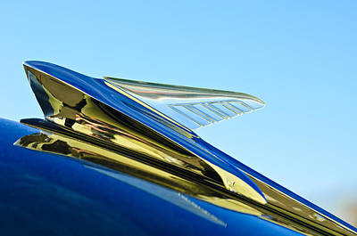 Photograph - 1951 Ford Hood Ornament by Jill Reger