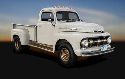 Photograph - 1951 Ford Mercury M3 Pickup Truck  -  1951m3mercurypickuptruck184369 by Frank J Benz