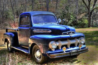 Photograph - 1951 Ford Truck by Carol Montoya