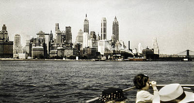 Photograph - 1951 Lower Manhattan Ny Vintage 2 by Marilyn Hunt