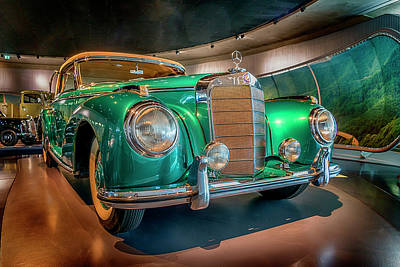 Photograph - 1951 Mercedes-benz 300 S Convertible A 7r2_dsc8202_05102017 by Greg Kluempers