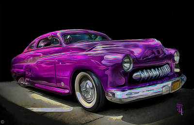Fli Digital Art - 1951 Mercury Coup by  Fli Art