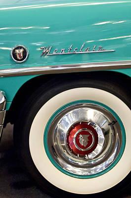 Photograph - 1951 Mercury Montclair Convertible Wheel Emblem by Jill Reger