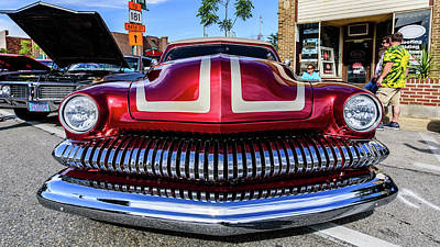 Photograph - 1951 Mercury by Randy Scherkenbach