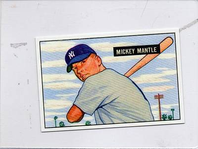 1951 Mickey Mantle Original