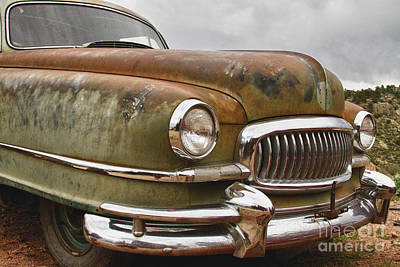 Photograph - 1951 Nash Ambassador Hydramatic Front End by James BO Insogna
