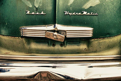 Photograph - 1951 Nash Ambassador Hydramatic by James BO Insogna