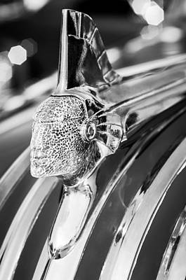 Photograph - 1951 Pontiac Hood Ornament by Jill Reger