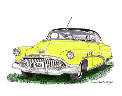 Painting - 1952 Buick Special by Jack Pumphrey