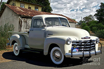 Photograph - 1952 Chevrolet 3100 Pickup II by Dave Koontz