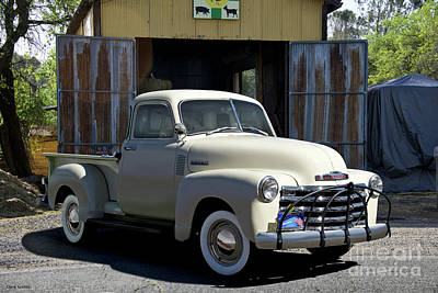 Photograph - 1952 Chevrolet 3100 Pickup IIi by Dave Koontz