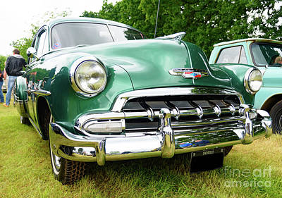 Photograph - 1952 Chevrolet by Colin Rayner