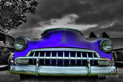 Photograph - 1952 Chevrolet by Tony Baca