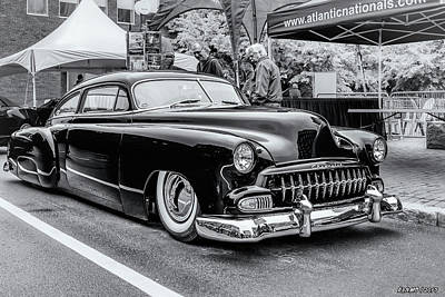 Photograph - 1951 Chevy Kustomized  by Ken Morris