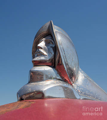 Photograph - 1952 Desoto Hood Ornament by Kevin McCarthy