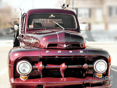 Photograph - 1952 Ford Pickup  by Janice Drew
