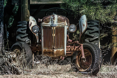 Photograph - 1952 Ford Tractor by Dawn Key