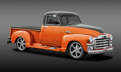 Photograph - 1952 Gmc Series 100 Pickup  -  1953gmc100fa9723 by Frank J Benz